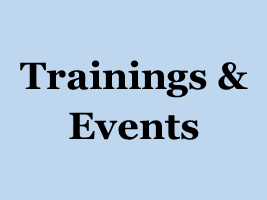 training events button